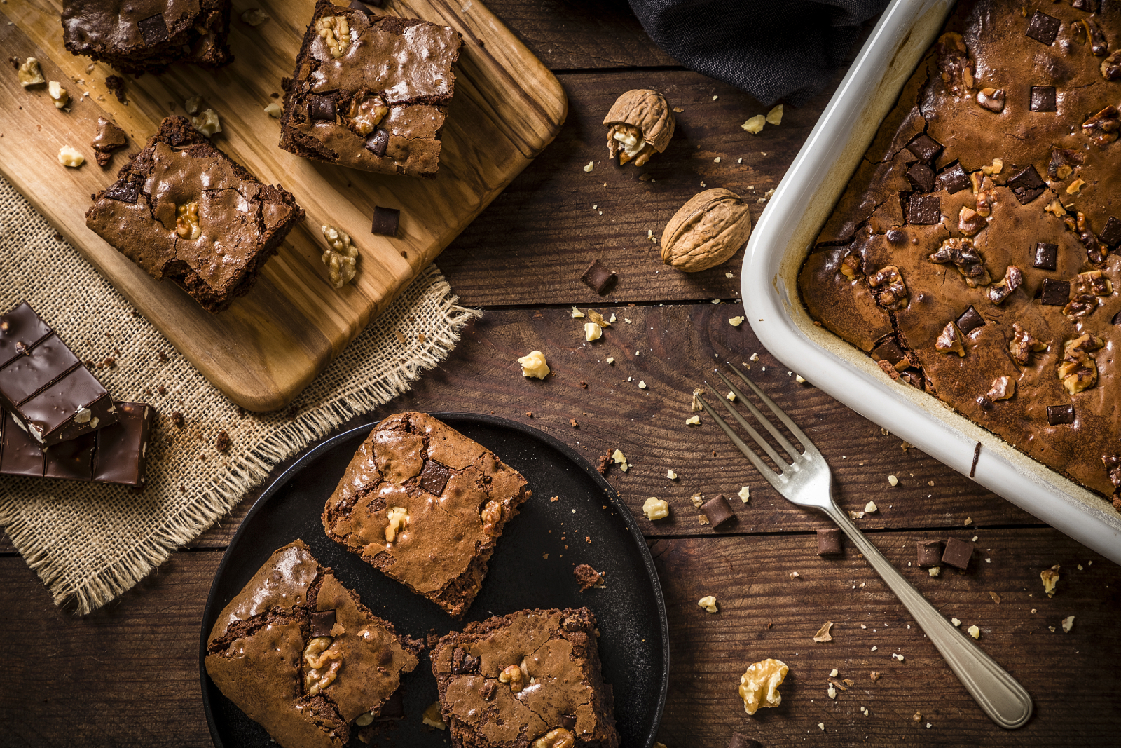 Brownie noix_la Perruche